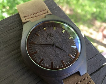 FREE ENGRAVING, Mens Wooden Watch, Wooden Watch for Men, Gift for Him, Mens Wood Watch, Wooden Watch, Wedding Gift, Mens Watch, Wrist Watch