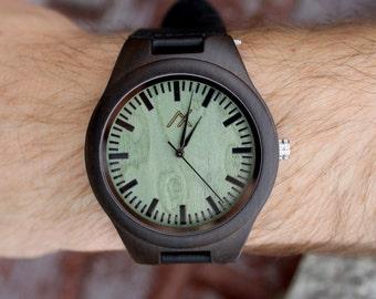 FREE Engraving, Wood Watch, Engraved Wooden Watch, Wood, Mens Wooden Watch, Wedding Gift, Anniversary Gift, Groomsmen Gift, Mens Wood Watch