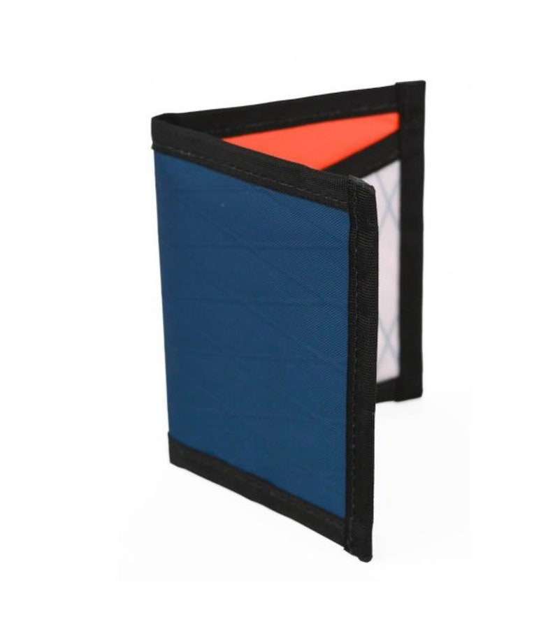 Light Weight Made in the USA Flowfold Minimalist Slim Front Pocket Card Holder Wallet