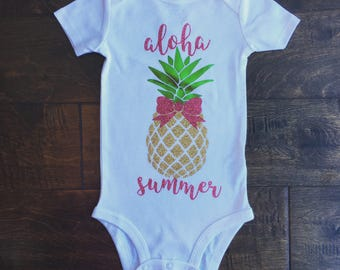 4aadd28a0eb Baby girl pineapple