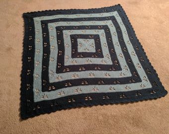 Crochet Dragonfly Blanket