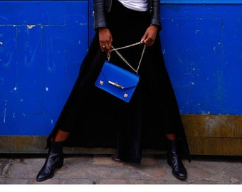 Gavi Shoulder Bag in Royal Blue