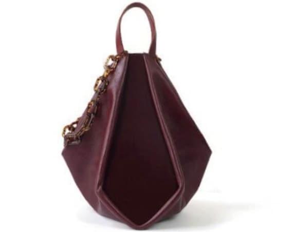 Oxblood Melina Tote Bag