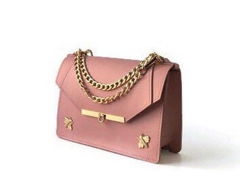 Gavi Shoulder Bag in Blush Pink / More colors