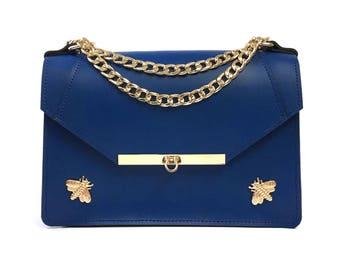Gavi Shoulder Bag in Royal Blue / More colors