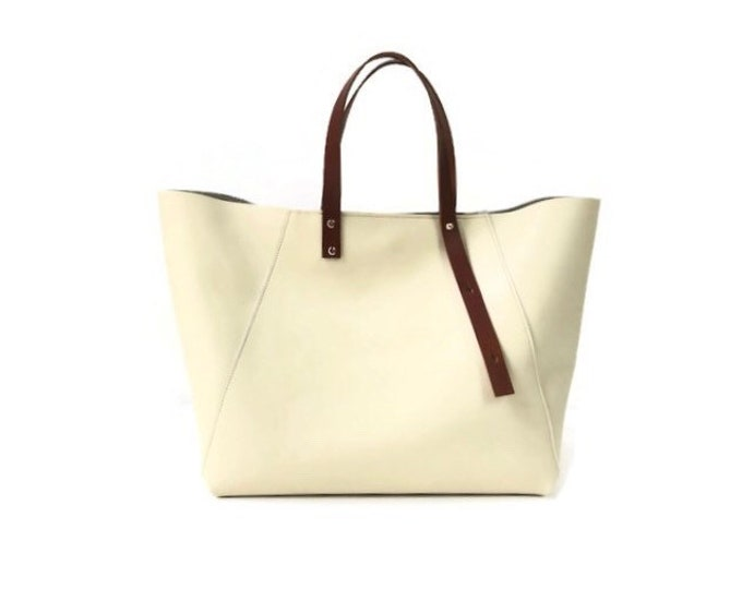 Featured listing image: A-Line Tote in Ivory