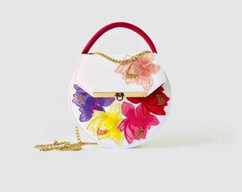 Loel Mini in Rainbow Bloom