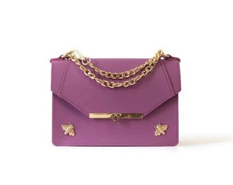 Gavi Shoulder Bag in Lavender / More colors