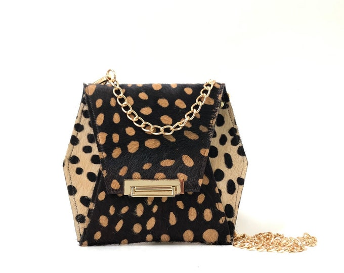Featured listing image: Spotted Hex Clutch