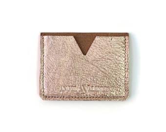 Rose Gold Card Case