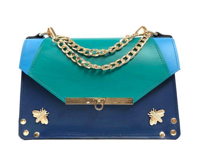 Featured listing image: Gavi Shoulder Bag in Triblue