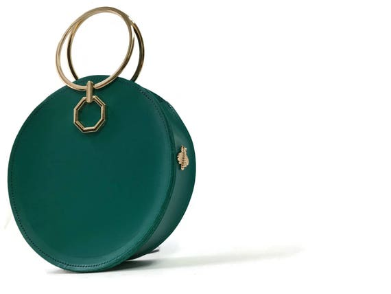 Aureole Bracelet Bag in Teal / More colors