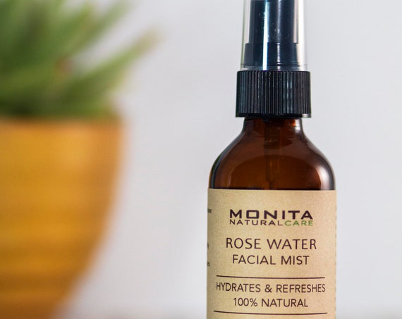 Organic Rose Water Facial Mist