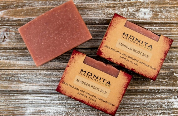 Madder Root Rose Clay Bar