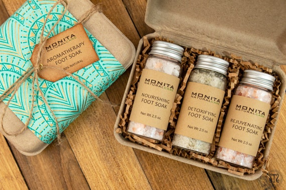 Aromatherapy Foot Soak Gift Set