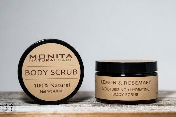 Lemon and Rosemary Body scrub