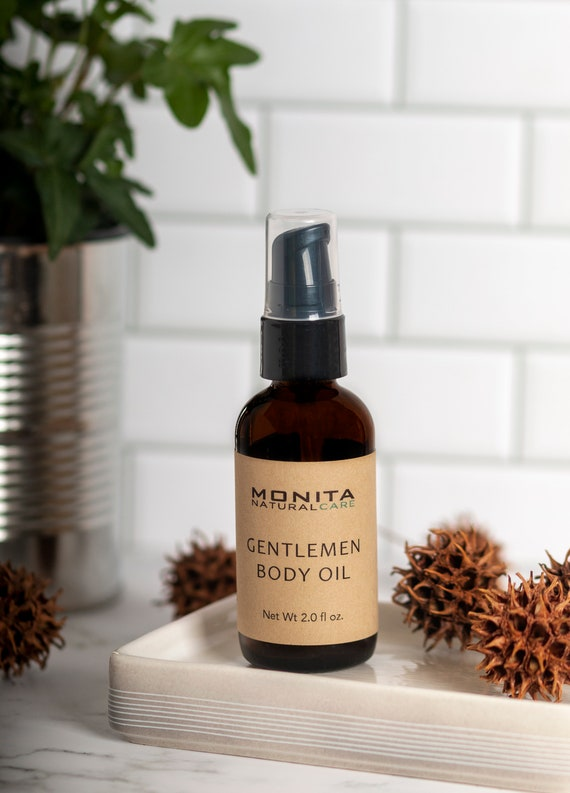 Gentlemen Body Oil