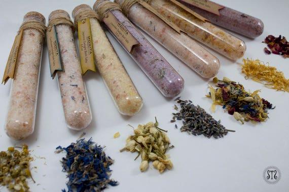 Bath Salt Test Tubes