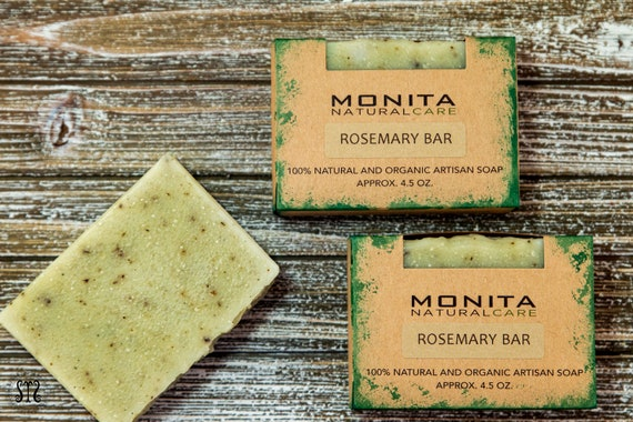 Rosemary Green Clay Bar