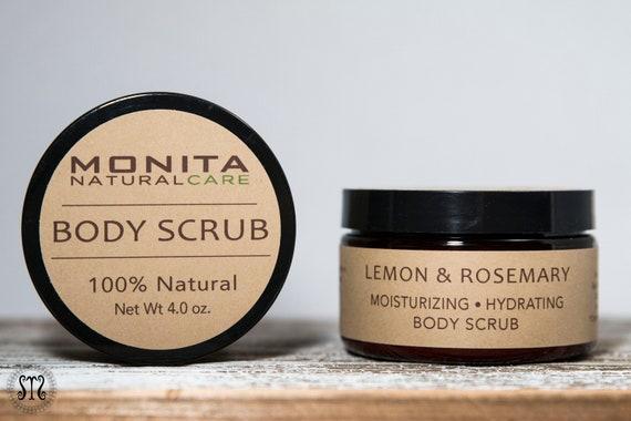 Lemon & Rosemary Whipped Sugar Body Scrub