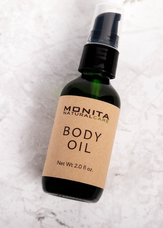 Organic Infused Body Oil