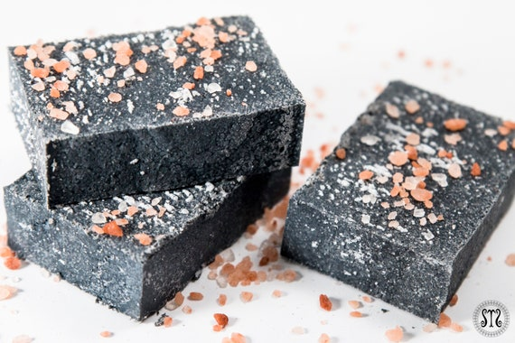 Activated Charcoal Himalayan Salt Bar