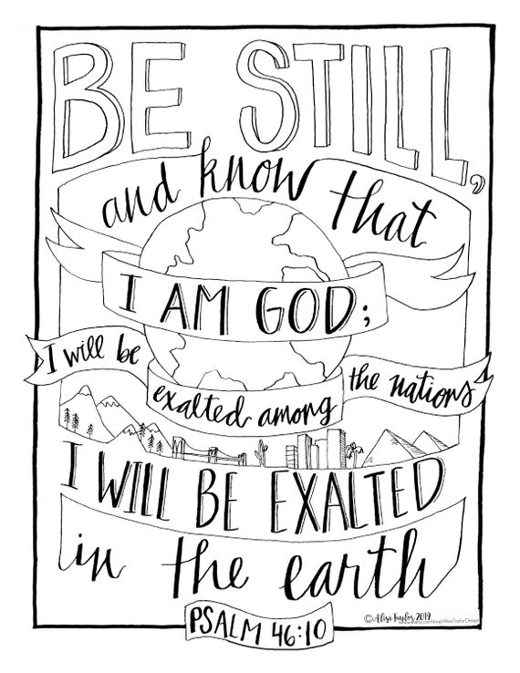 Christian bible verse coloring pages, drawing art pictures, line ... | 738x570