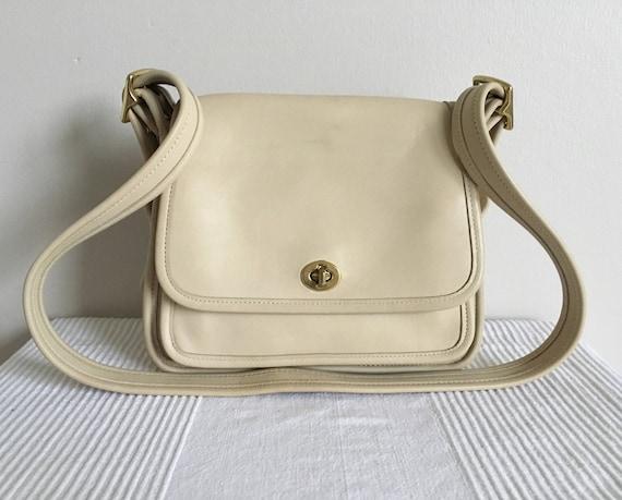 vintage coach 9061 legacy rambler flap shoulder bag purse etsy rh etsy com