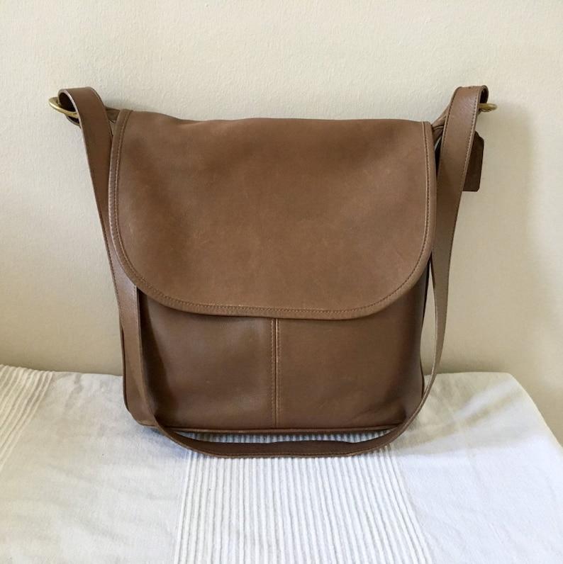 Vintage COACH 4115 Whitney Tote Shoulder Flap Crossbody Bag  15a92f2b89dd5