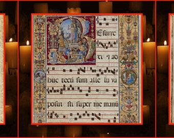 Comix Tiny Prayer Flag No. 45, Meister Eckhart