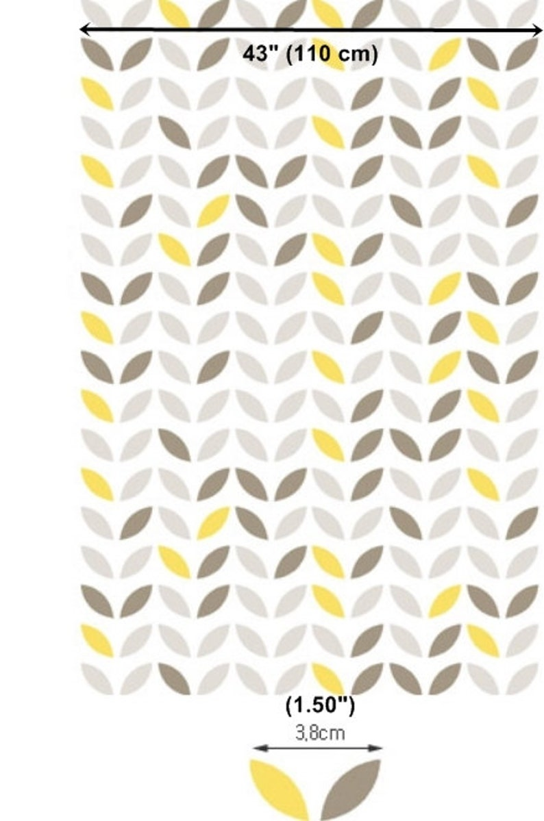 Laminated Cotton Fabric Leaf By The Yard