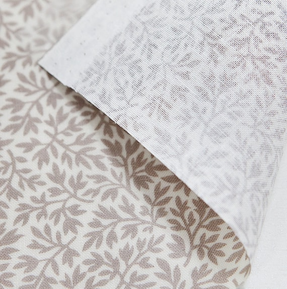 Laminated Cotton Fabric Beige By The Yard Etsy