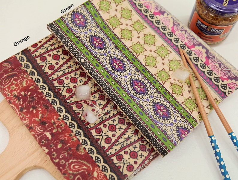 Laminated Cotton Fabric in 2 Colors By The Yard