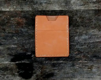 Hand Made Veg Tanned Leather Pocket Knife Slip Case