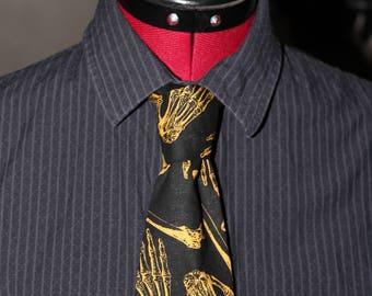 Rockabilly Bones Tie