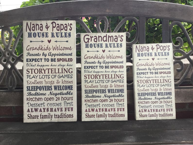 Greatest Blessings Personalized With Grandparent Names//Nicknames Of Choice Custom Grandparents Christmas Gift Perfect Gift Canvas