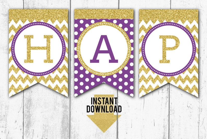 graphic relating to Happy Birthday Banner Printable titled PRINTABLE BIRTHDAY BANNER, Pleased Birthday Banner, Crimson and Gold Glitter Birthday Banner, Printable Banner, Fast Obtain (bb11)