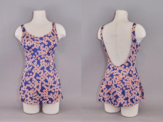 70s Jantzen Bathing Suit Polka Dots Swimwear