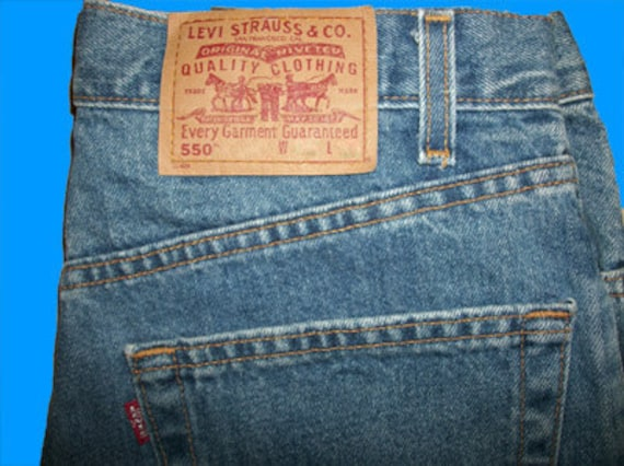 e4872120bd9 Levis 550 Relaxed ALL SIZES