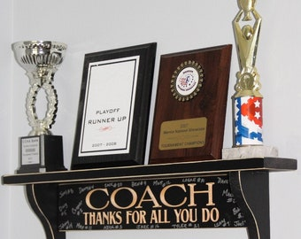 COACH Thanks for all you do  -  Shelf