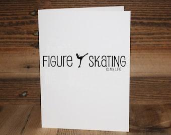Figure Skating Greeting Card