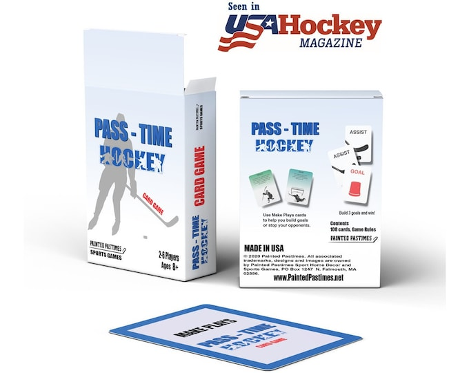 Featured listing image: Hockey Card Game