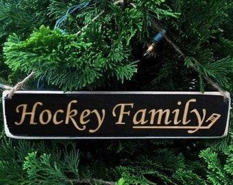 Hockey Family - Ornament