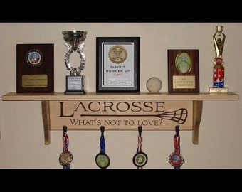 LACROSSE What's not to love?  -  Trophy Shelf