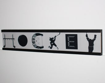 HOCKEY Montage Letter Tiles - Sign