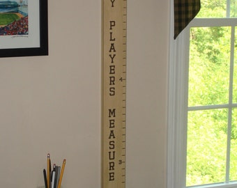 Hockey Players Measure Up!  -  Hockey Growth Chart