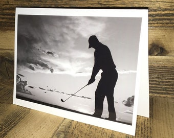 Golf Photo Greeting Card