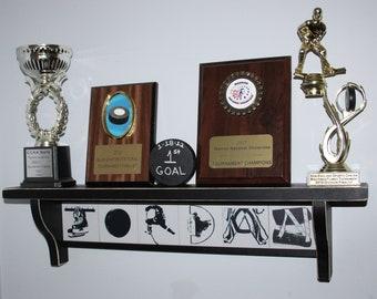 Hockey Letter Tiles - Signs & Shelves