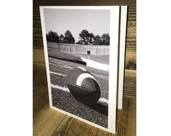 Football Photo Greeting Card