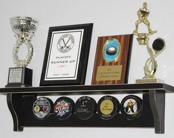 Hockey Puck Display - Shelf